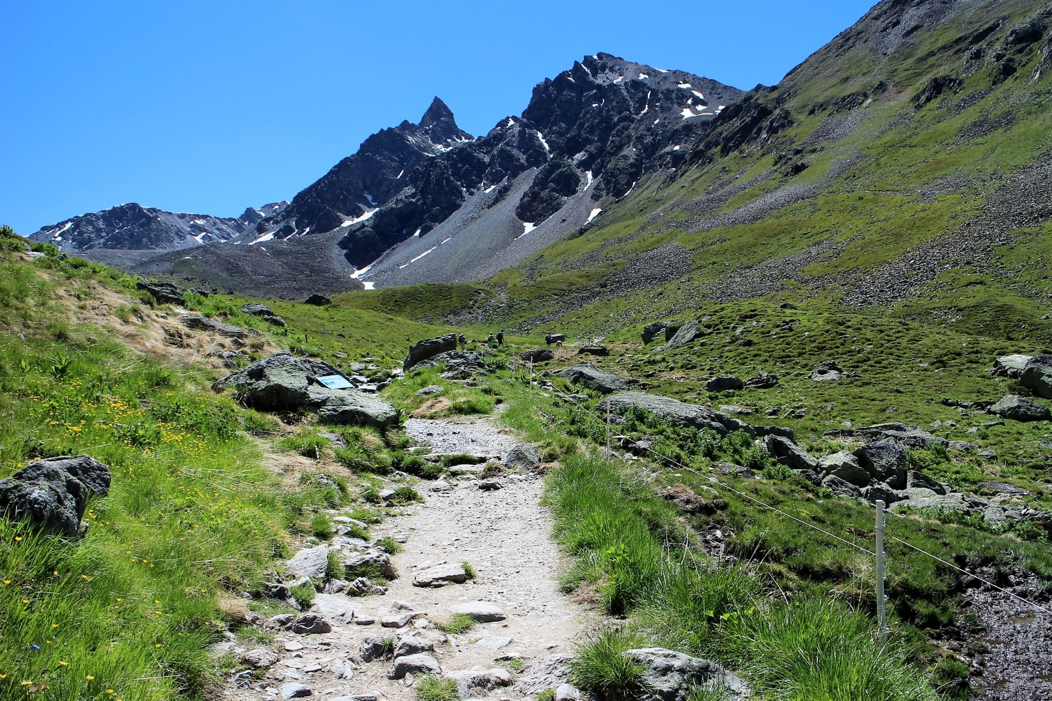 Muottas Muragl hiking