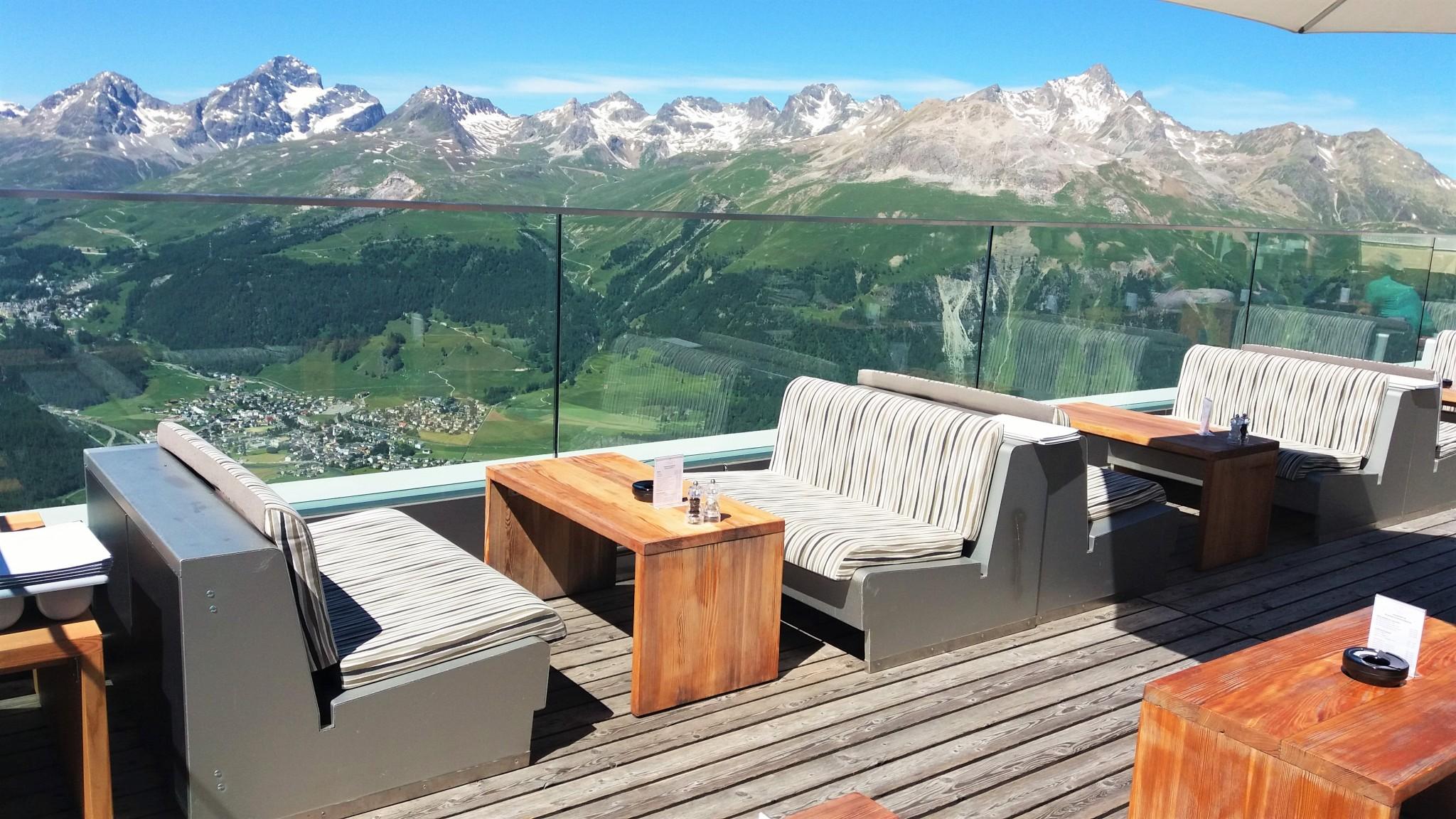 Romantik Hotel Muottas Muragl Terrace