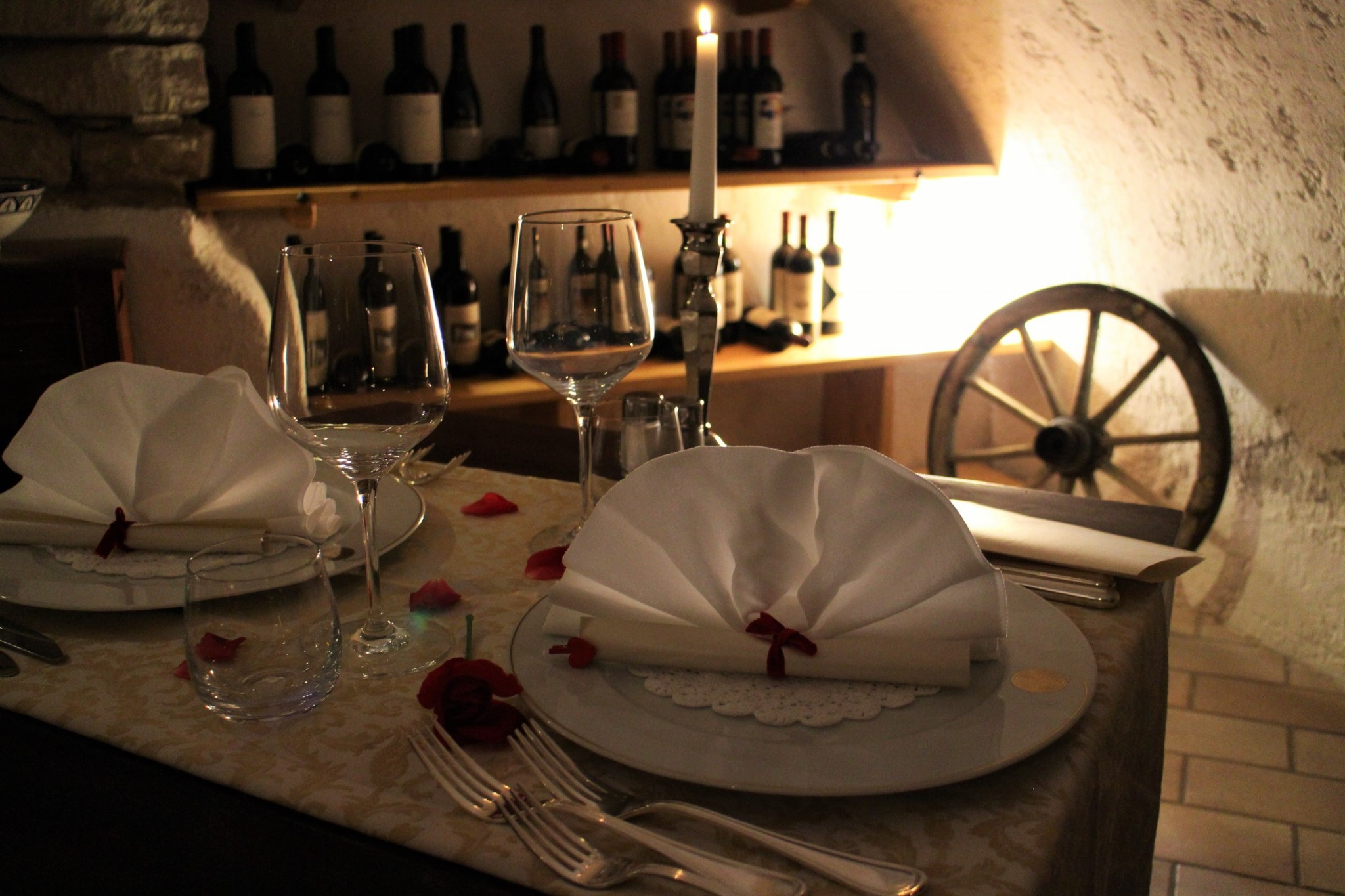 Villa Nicolli Romantic Dinner
