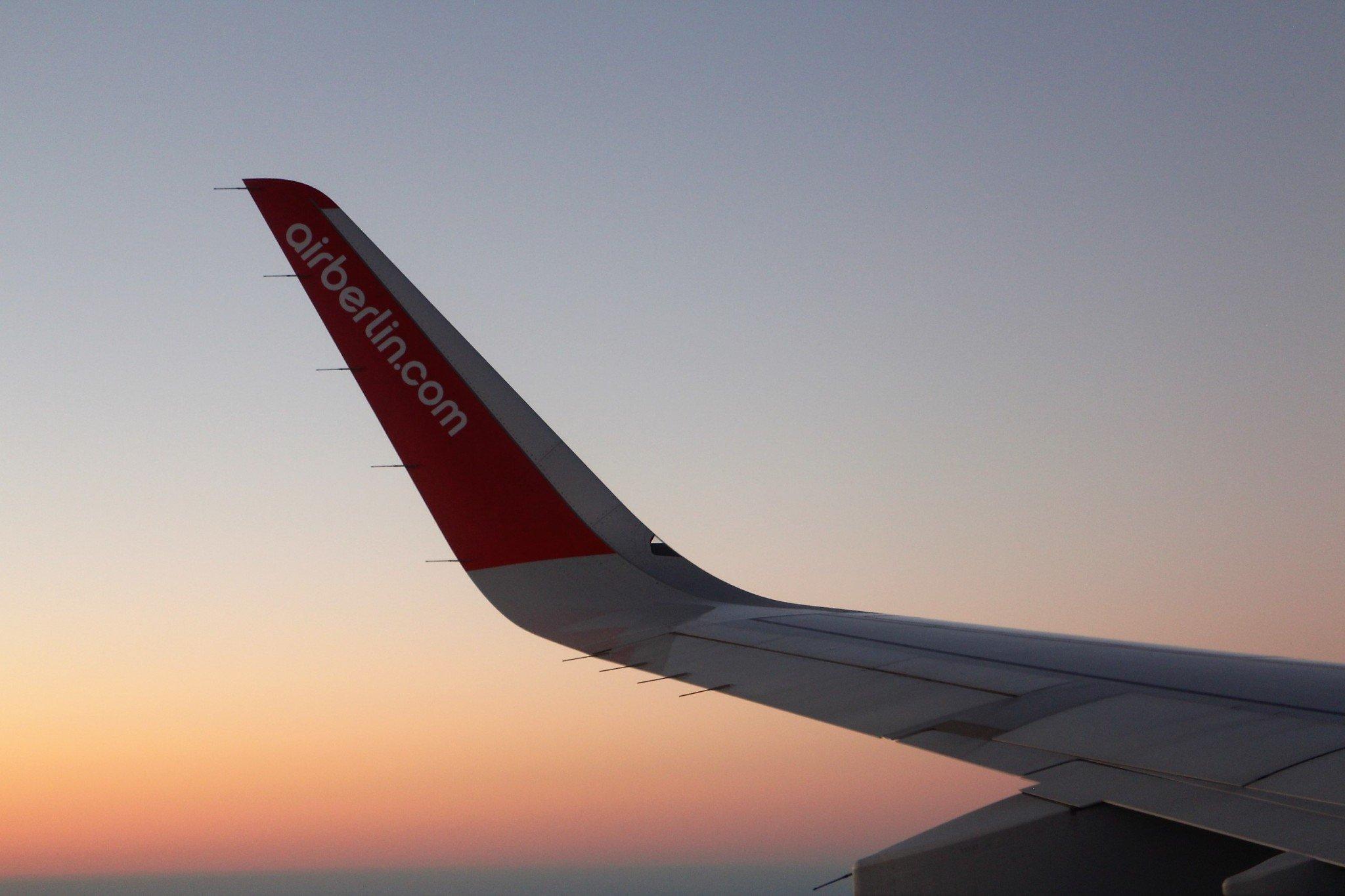 Airberlin A321 Wingview