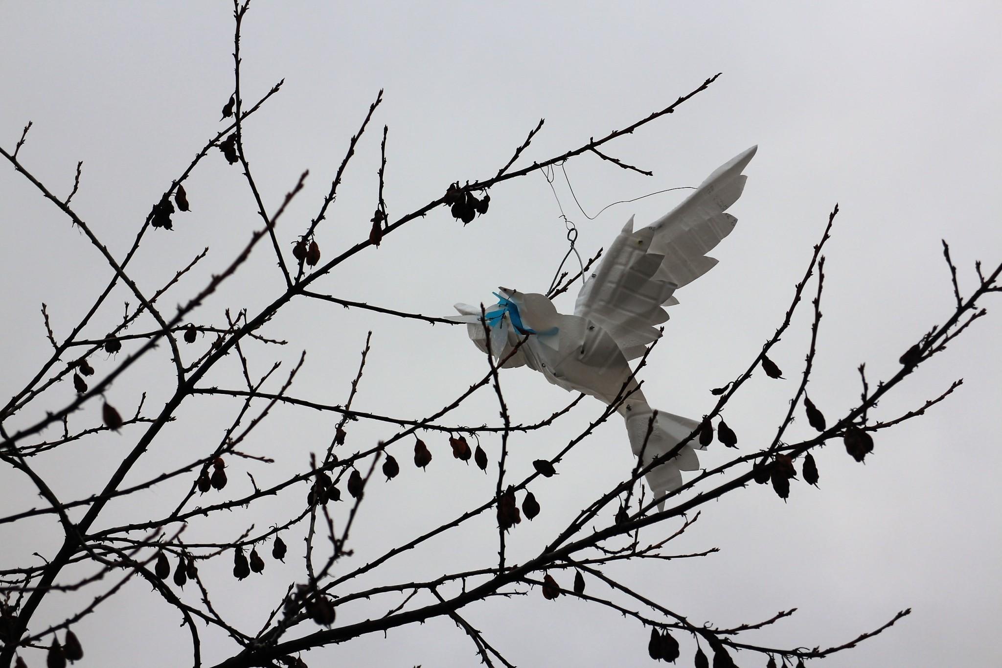 Berlin Holocaust-muistomerkki lintu