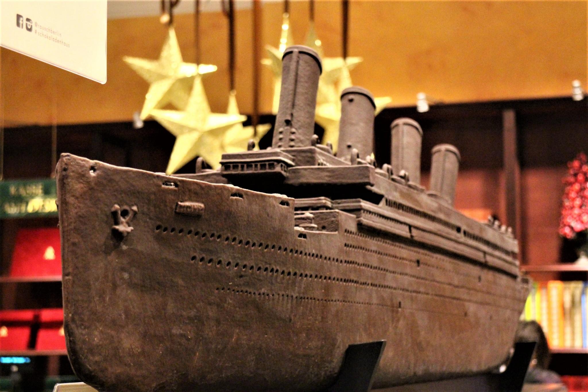 Berlin Rausch Scokoladenhaus Titanic
