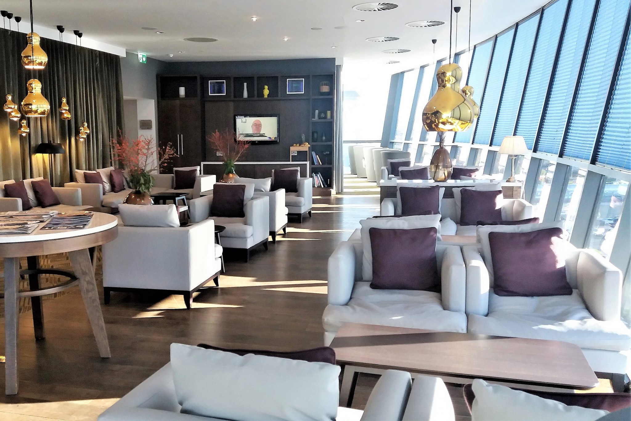Radisson Blu Manchester Airport Business Lounge