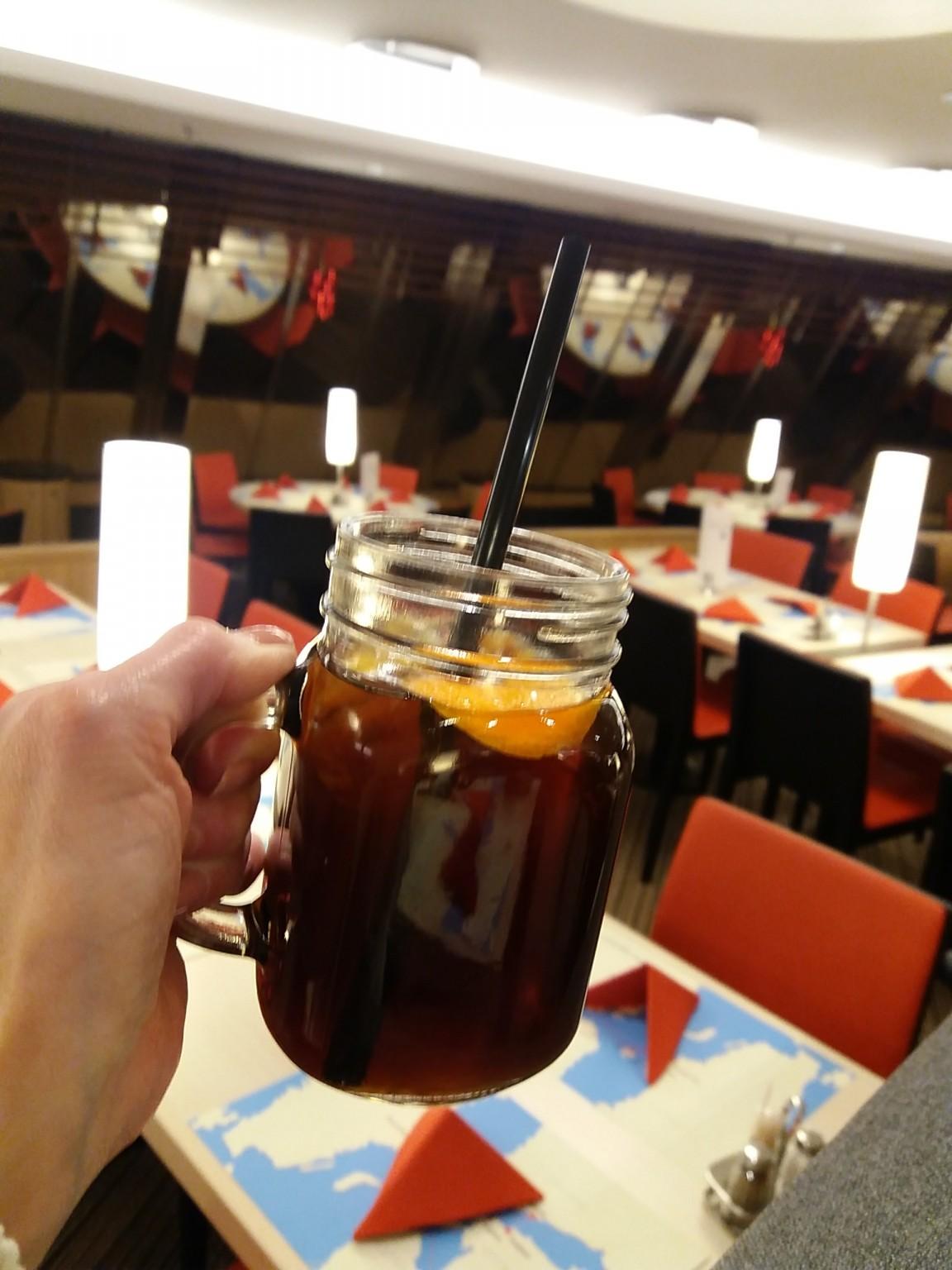 Tallink Silja kylmäuutettu musta kahvi