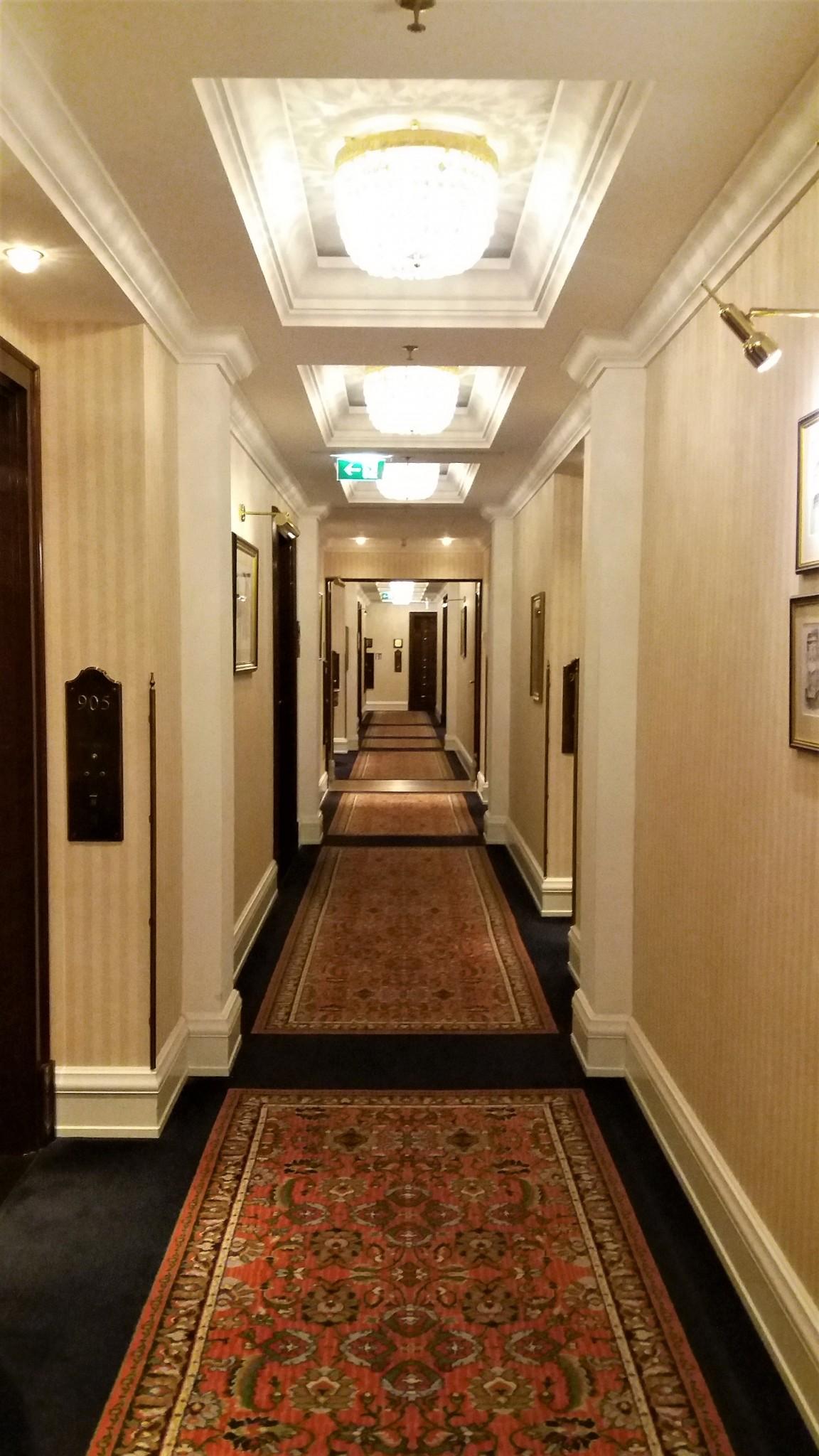 The Ritz-Carlton Berlin corridor