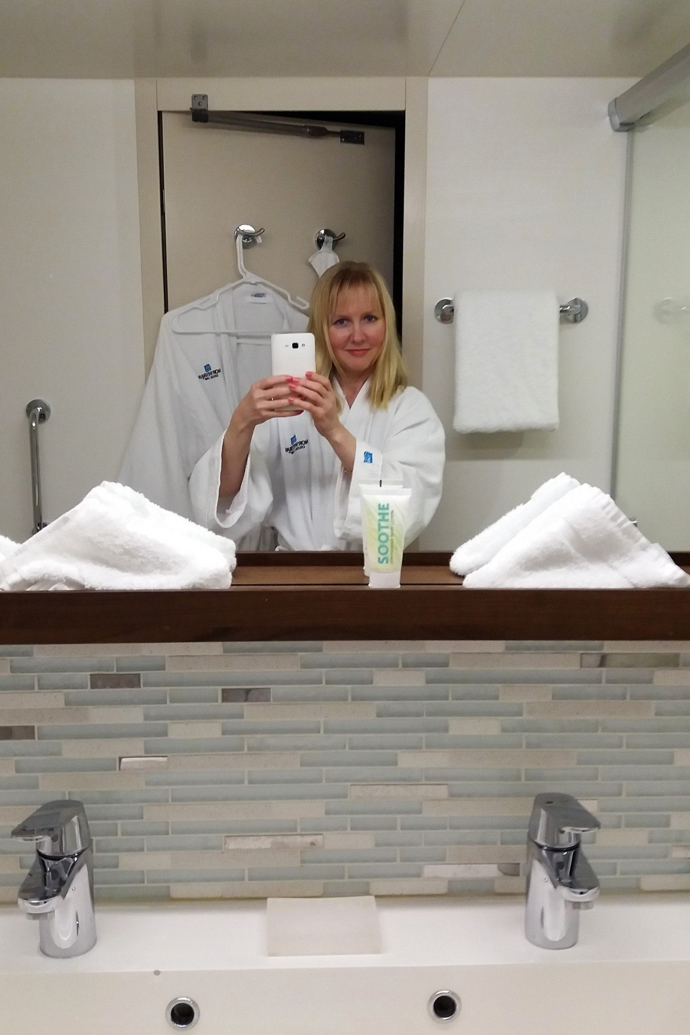 Norwegian Escape Bathrobe