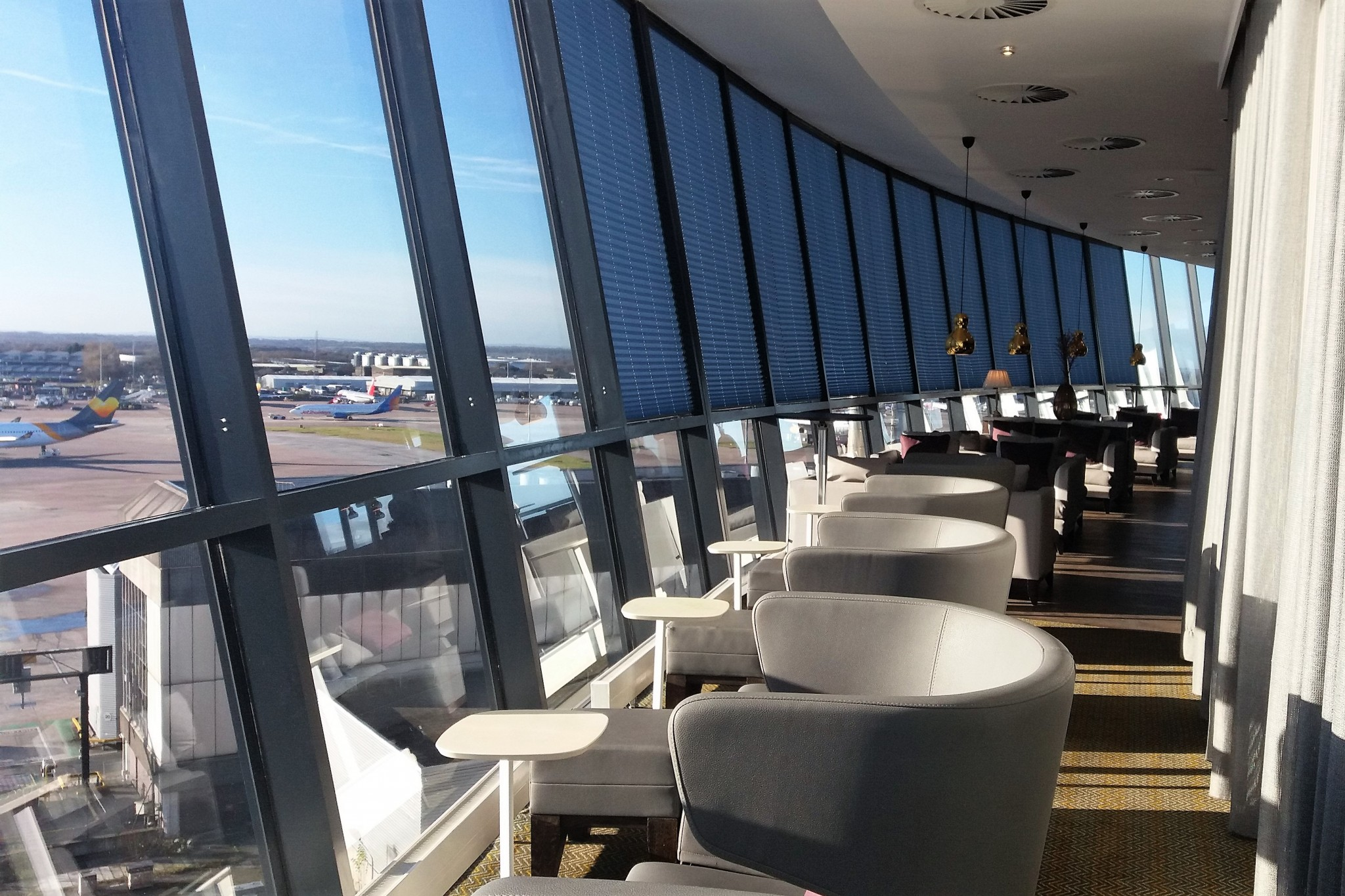 Radisson Blu Manchester Airport Business Lounge 2