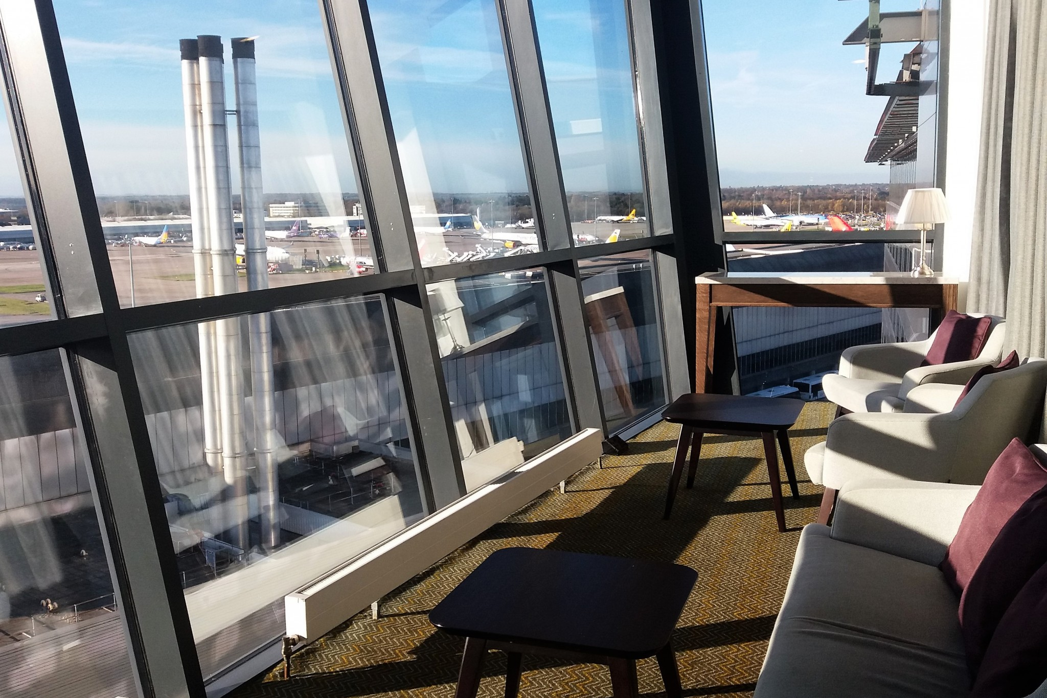 Radisson Blu Manchester Airport Business Lounge 3