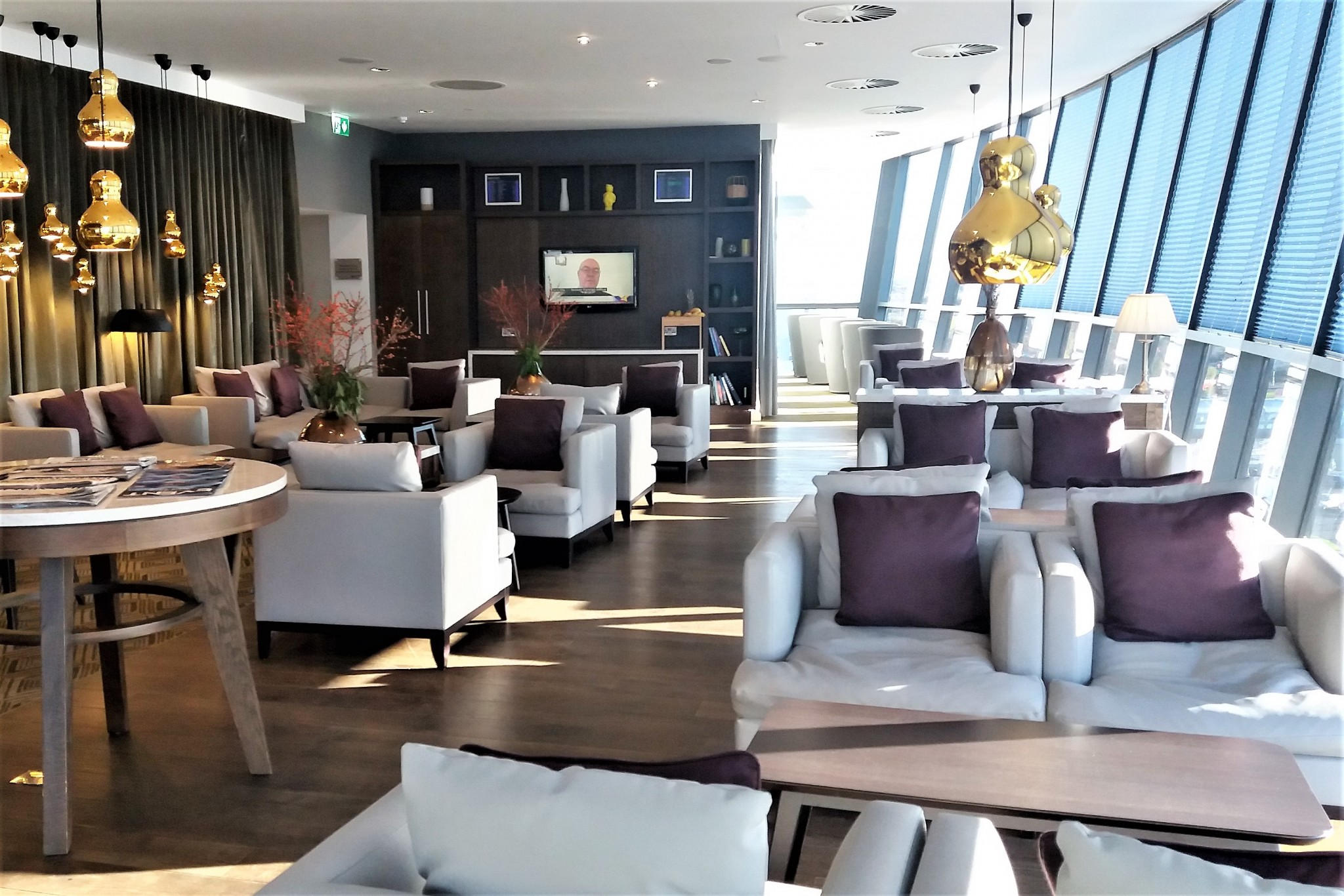 Radisson Blu Manchester Airport Business Lounge 4