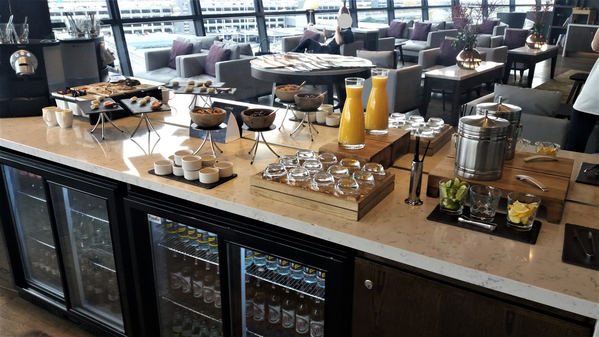 Radisson Blu Manchester Airport Business Lounge 5