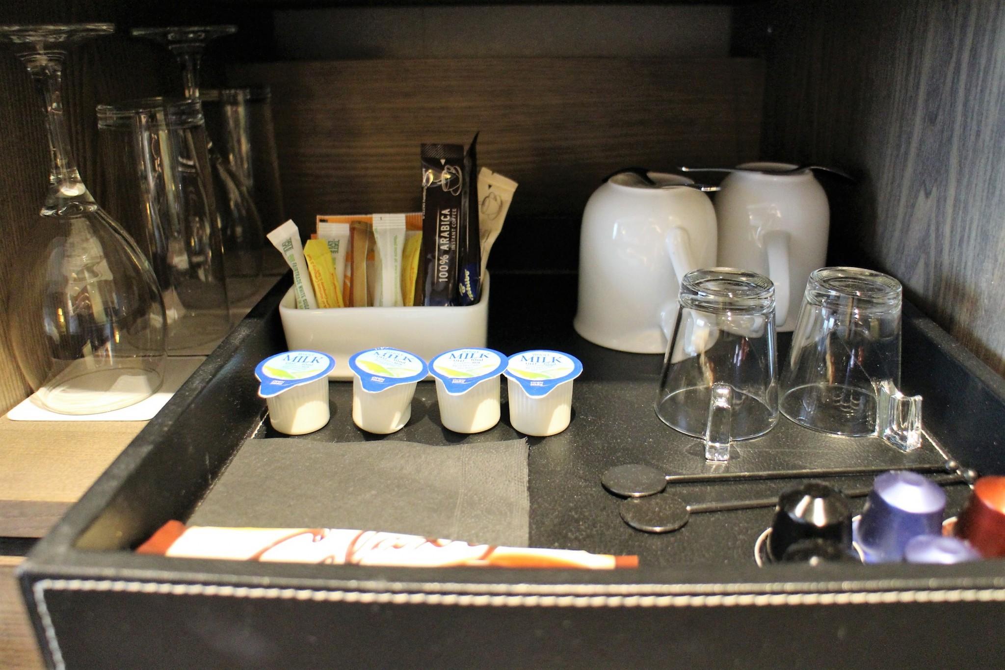 Radisson Blu Manchester Airport Business Room Nespresso