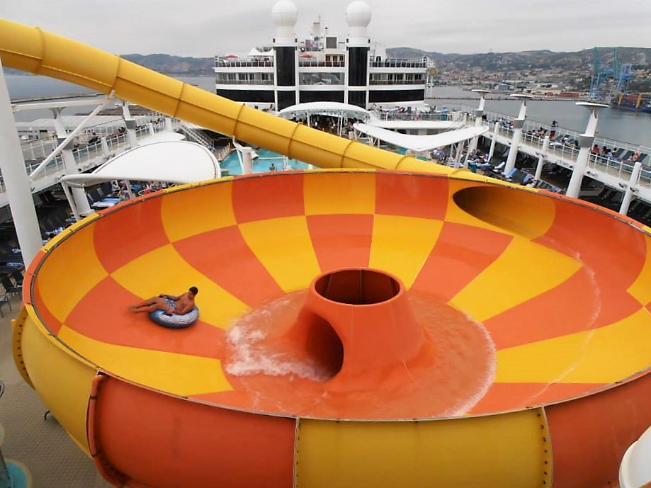 Norwegian Epic Plunge