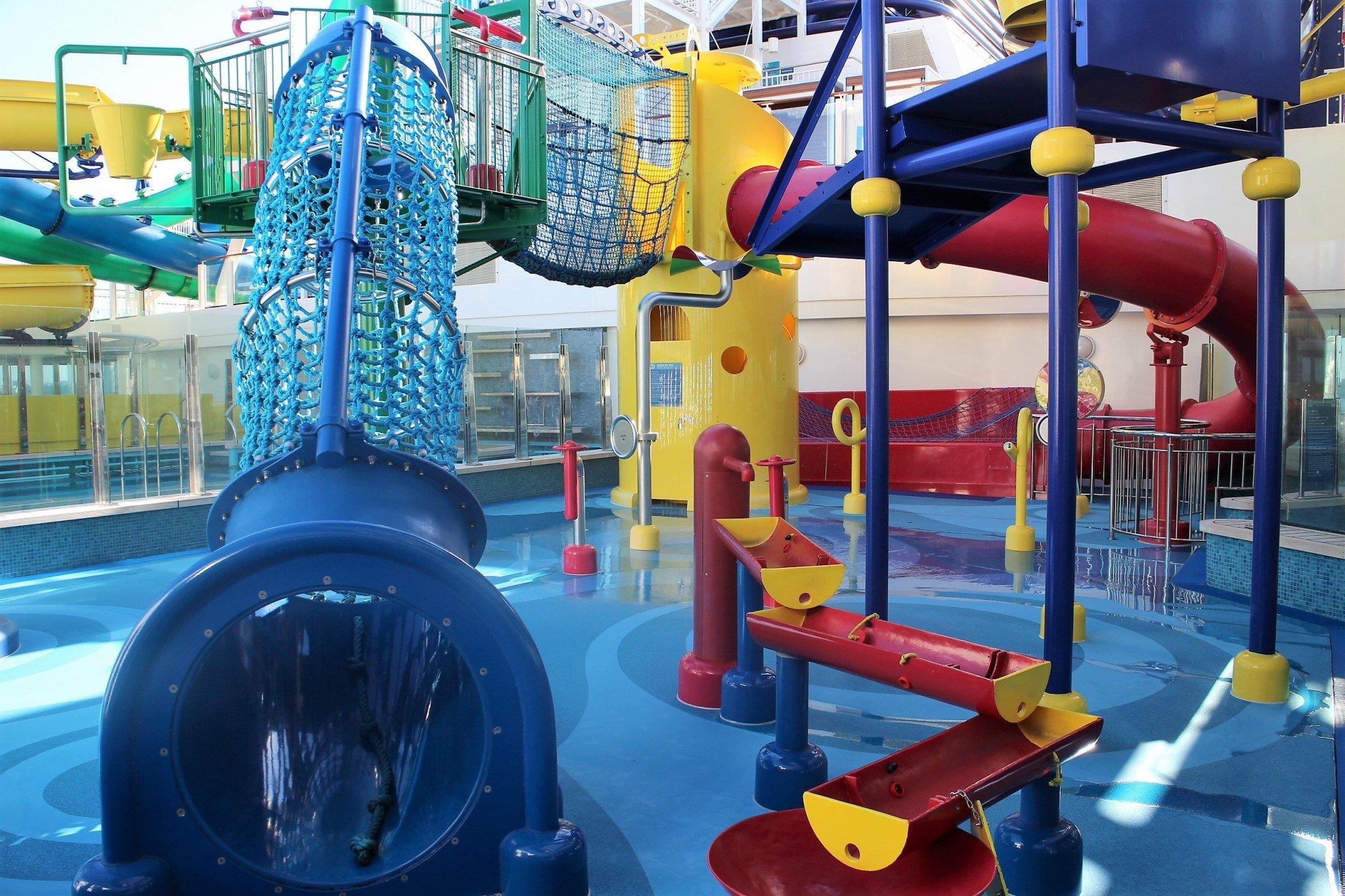Norwegian Escape Aqua Park
