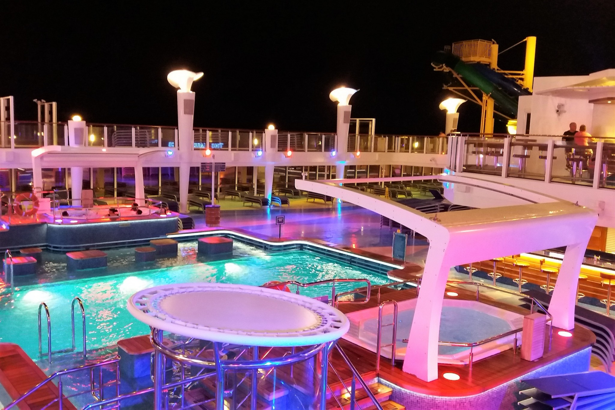Norwegian Escape Pool Deck