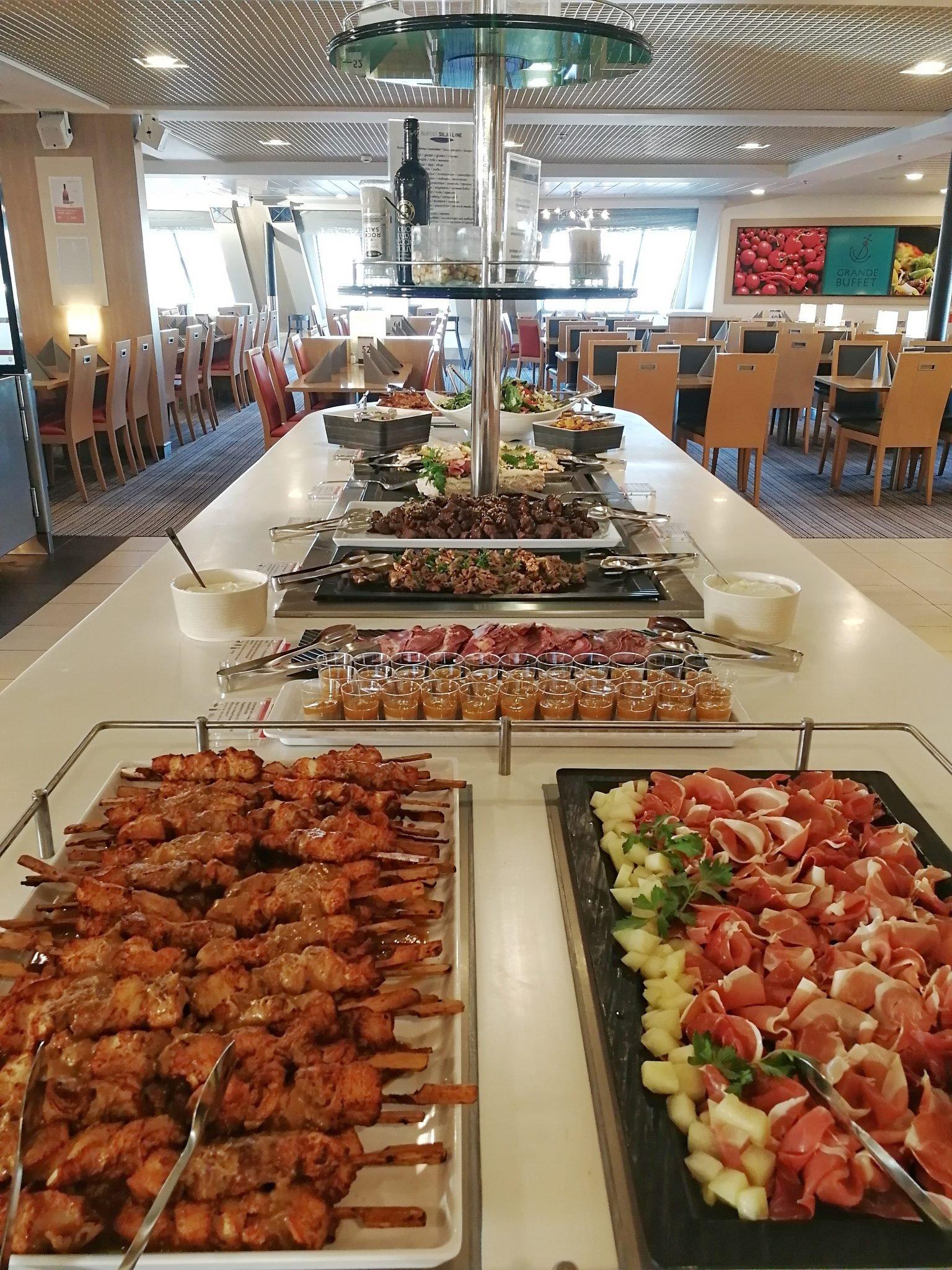 baltic princess buffet