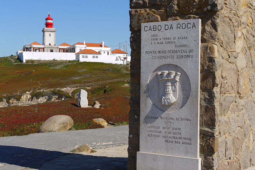 Cabo da Roca, Portugali