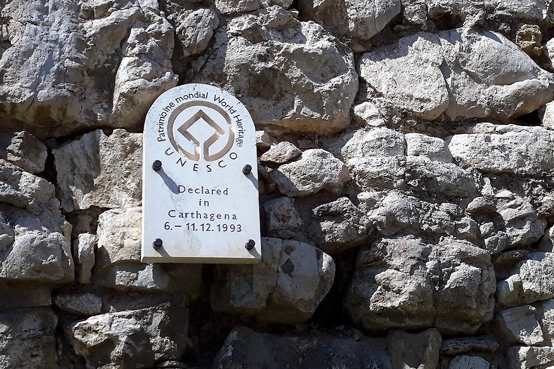 Spisin linna, Unescon maailmanperintökohde