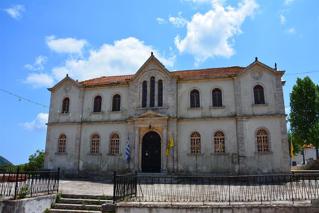 Kiliomenon kirkko, Zakynthos