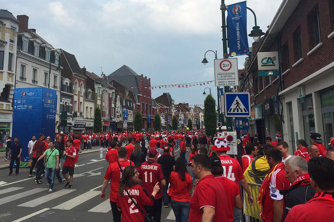 Euro 2016, Lens