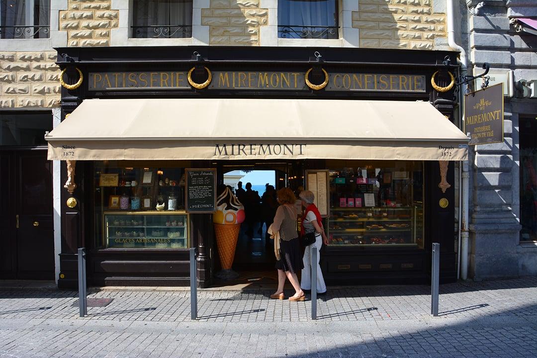 Ostoksilla Biarritzissa