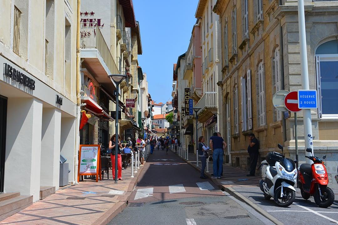 Biarritzin katukuvaa