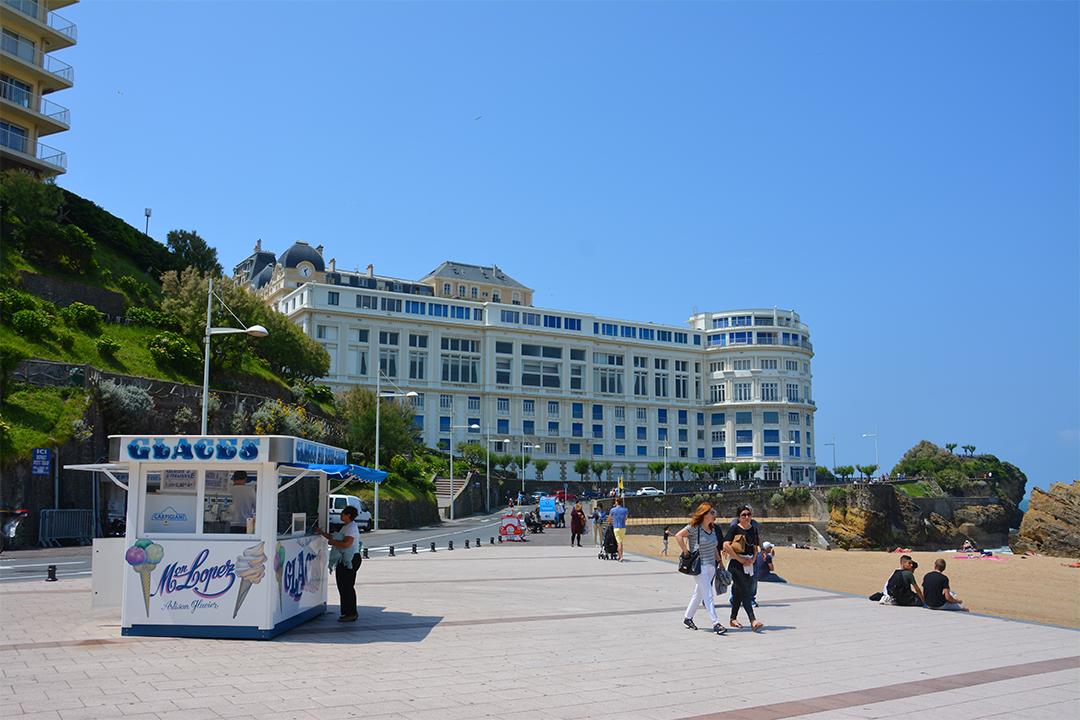 Biarritzin rantakatu