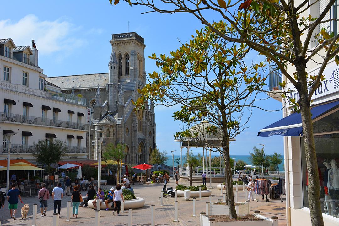 Biarritzin keskustaa