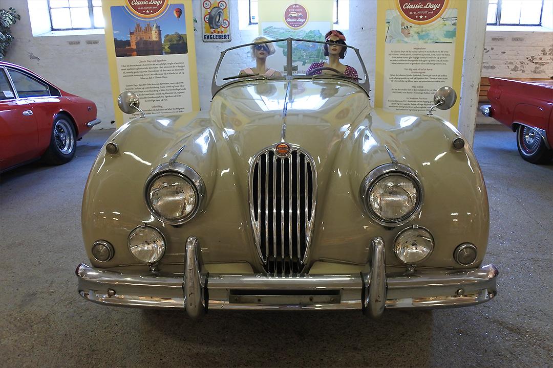Vanhojen autojen museo, Egeskovin tilalla Tanskassa