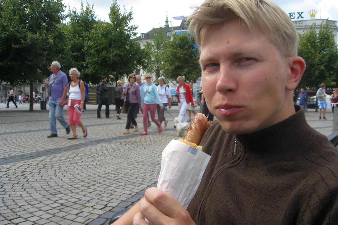 Hot dog Kööpenhaminassa