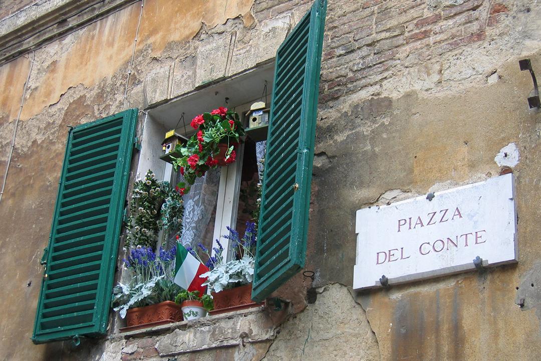Ikkuna Sienassa