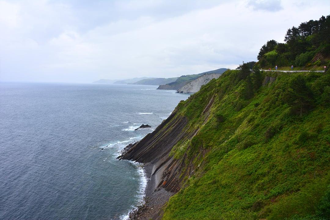 Baskimaan rannikkoa