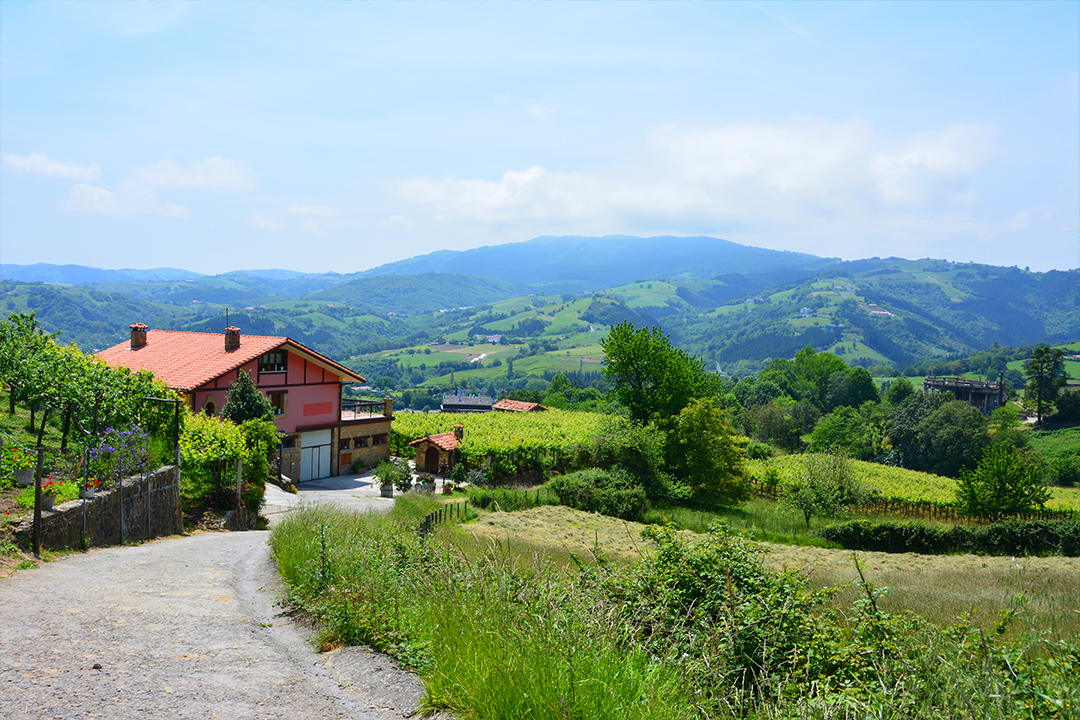 Patikoimassa Baskimaassa