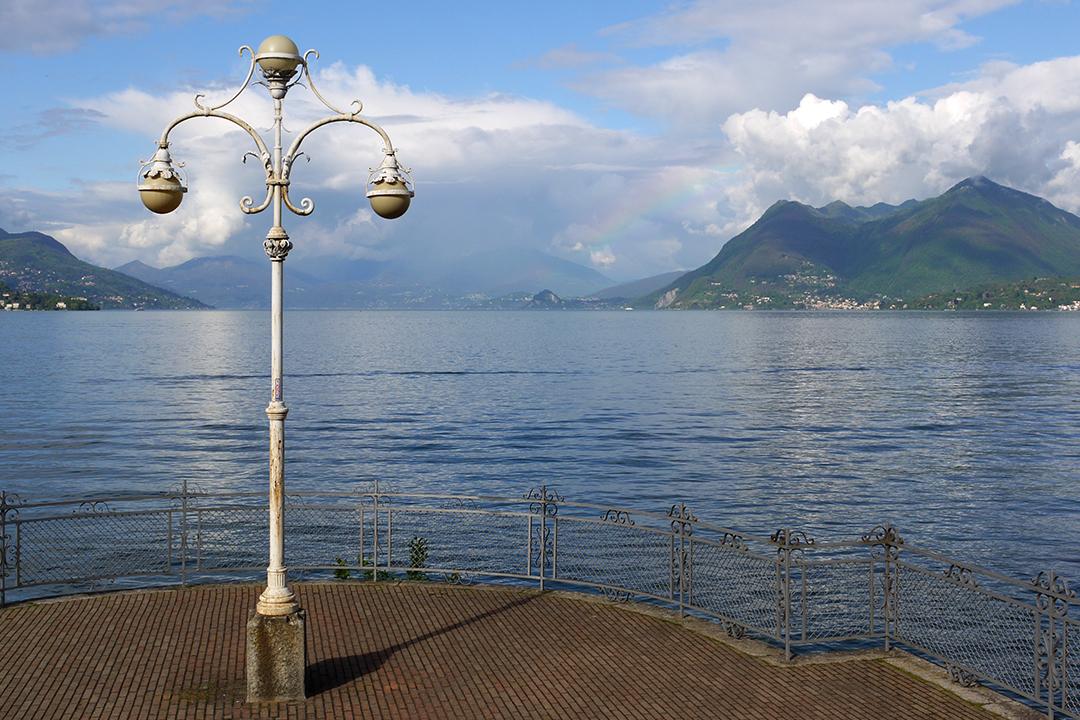 Lago Maggiore Stresasta nähtynä