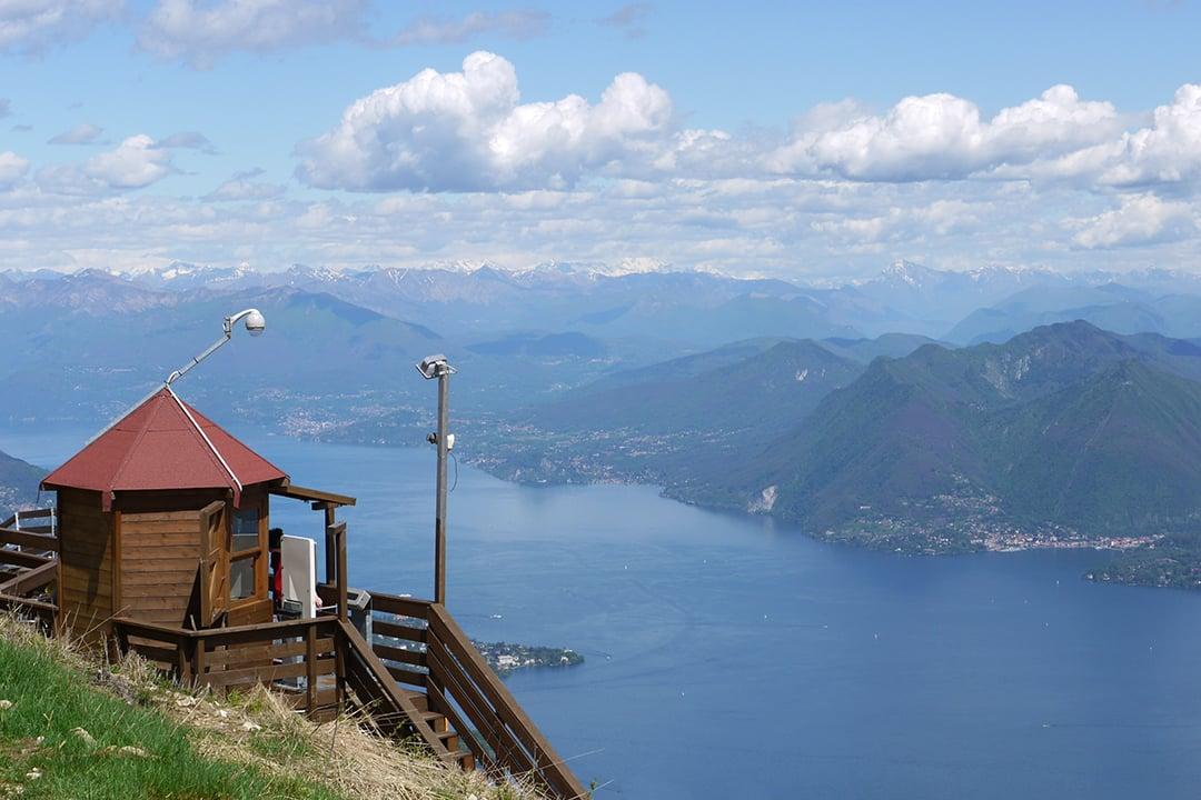 Lago Maggiore Mottaronelta nähtynä