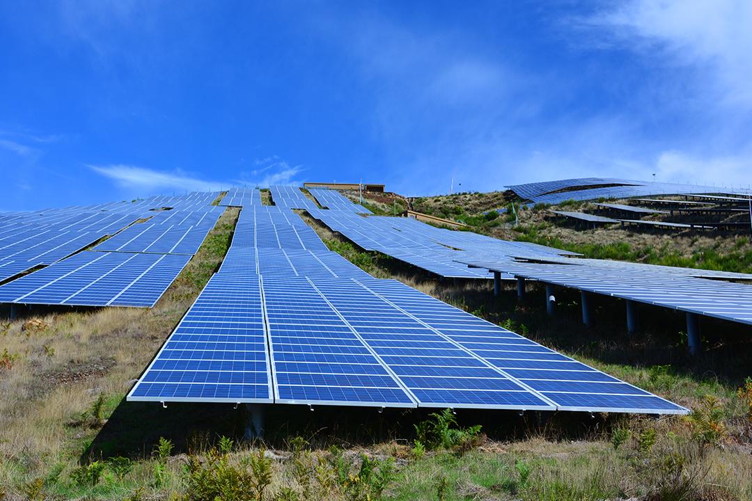 Aurinkovoimala Madeiralla