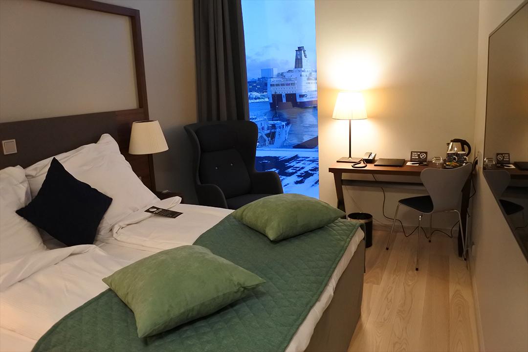 Standard-huone, Clarion Hotel Helsinki