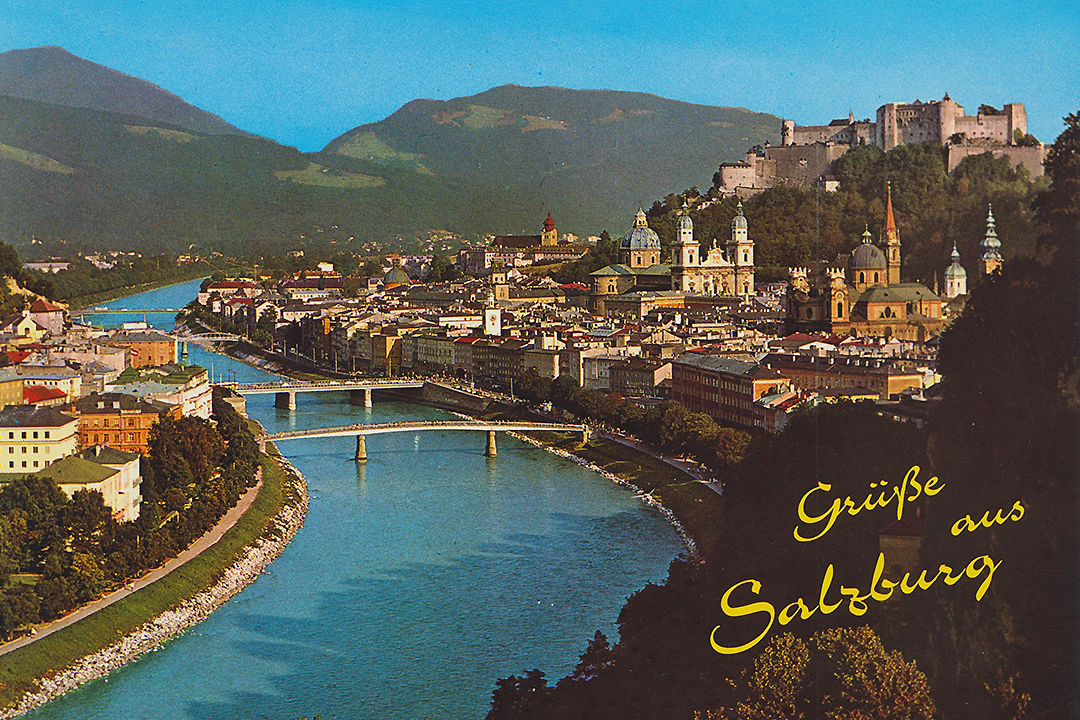 Postikortti Salzburgista