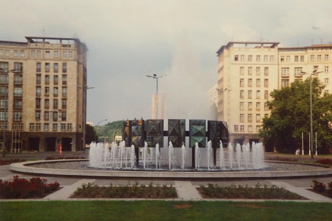 Itä-Berliinissä