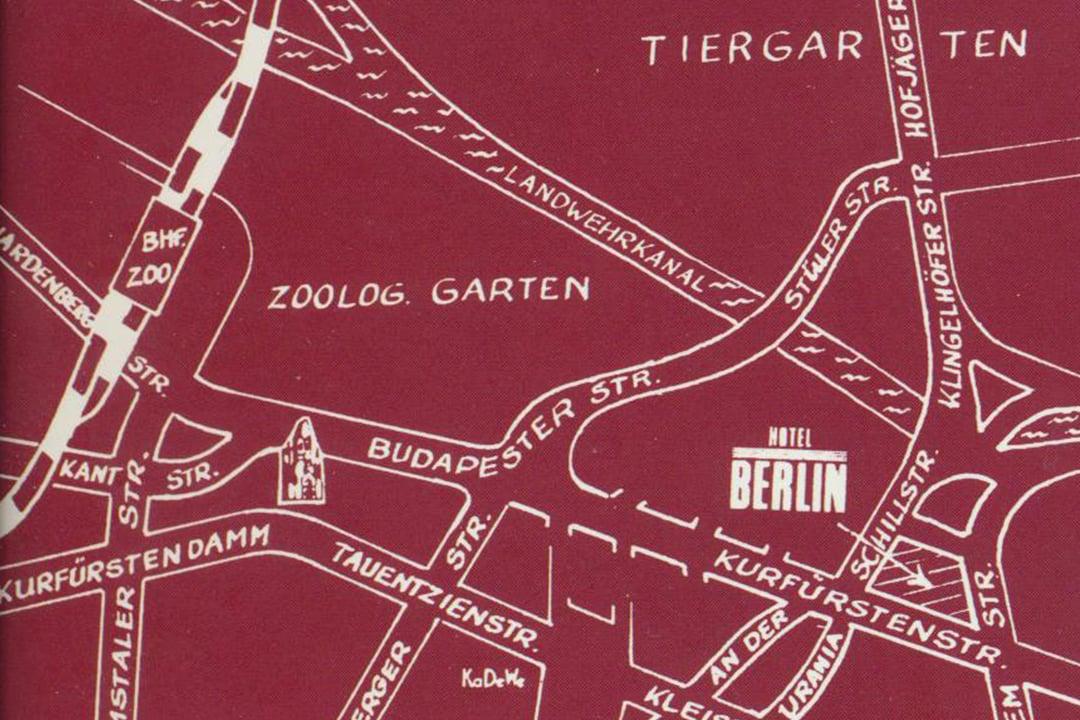Berliinin karttaa