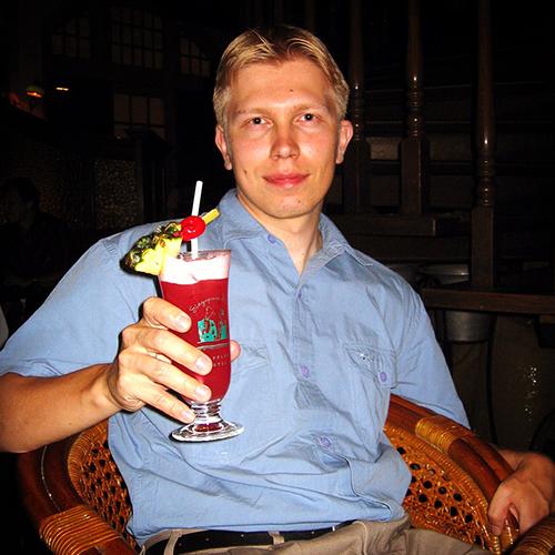 Long Bar, The Raffles, Singapore