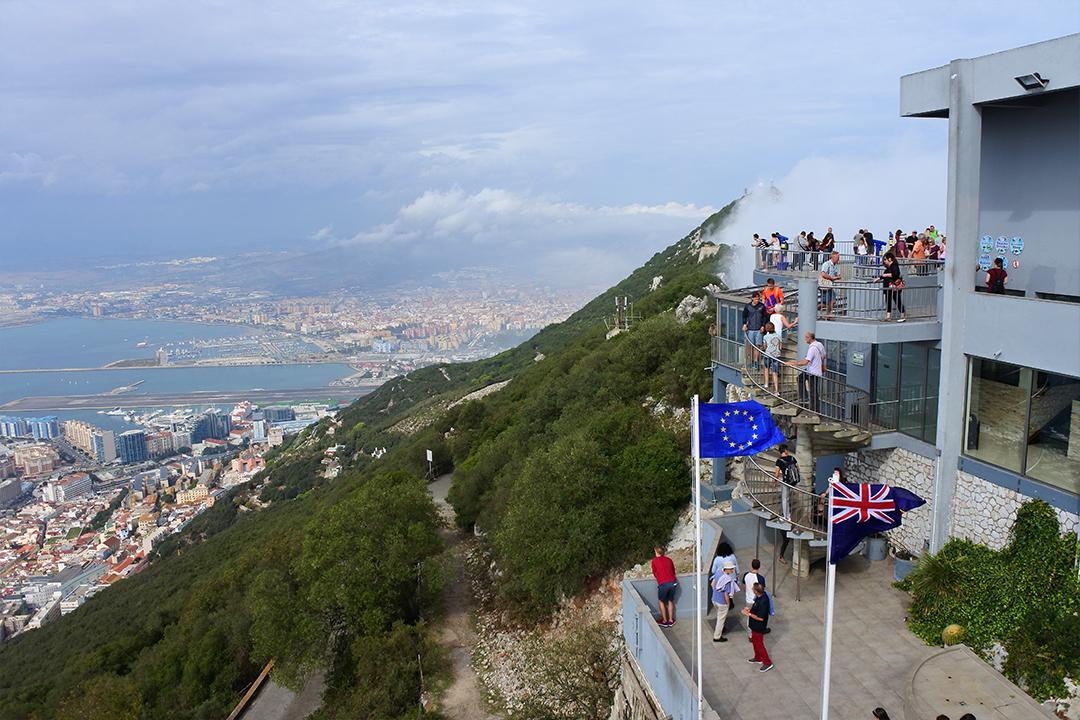 Gibraltarinvuoren näköalapaikka