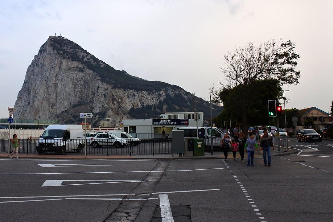 Gibraltarin rajalla
