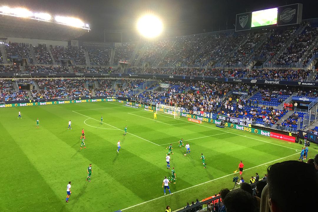 Málaga-Leganés 4-0