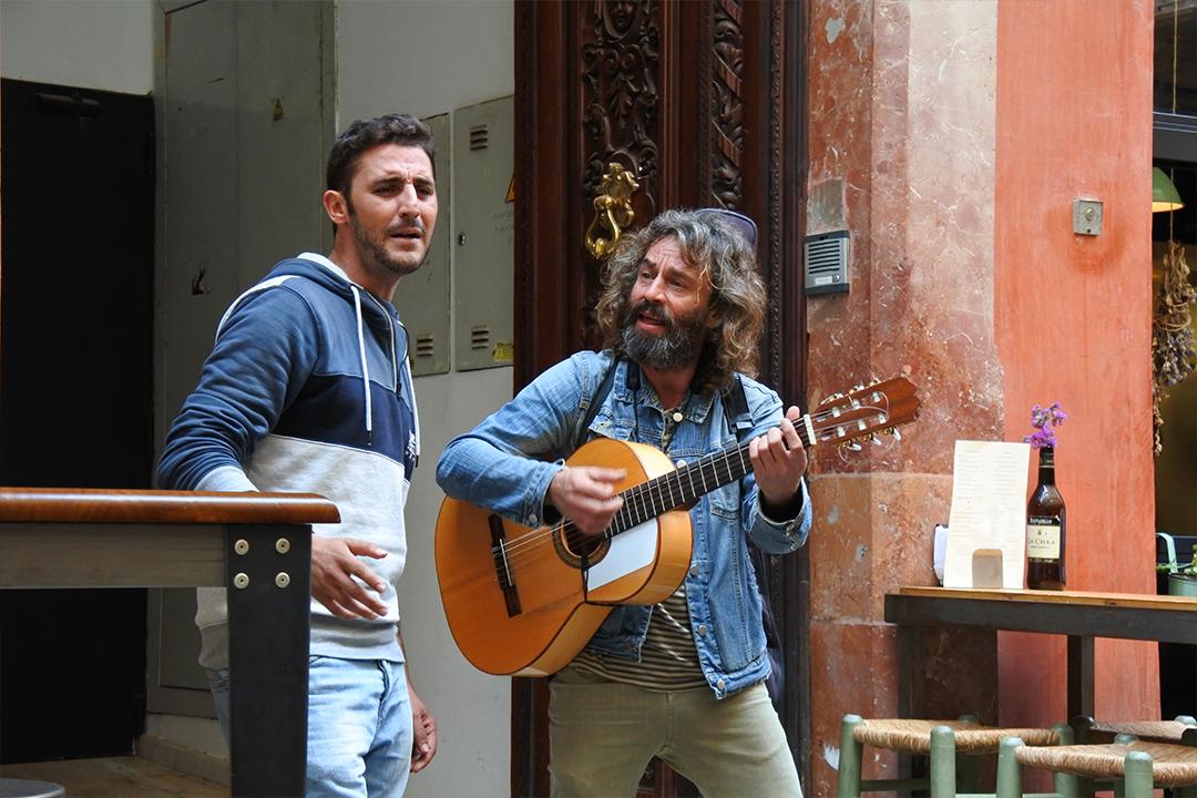 Musiikkia Málagan kaduilla