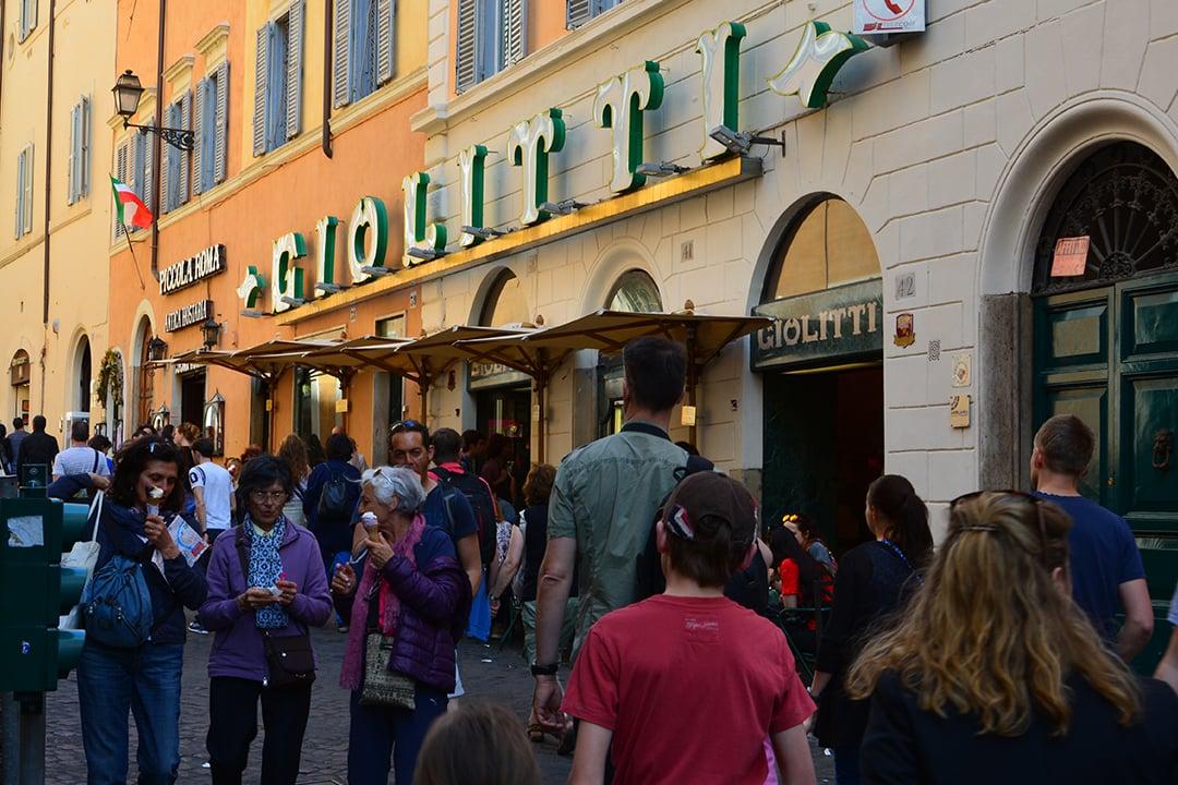 Giolitti, Rooma