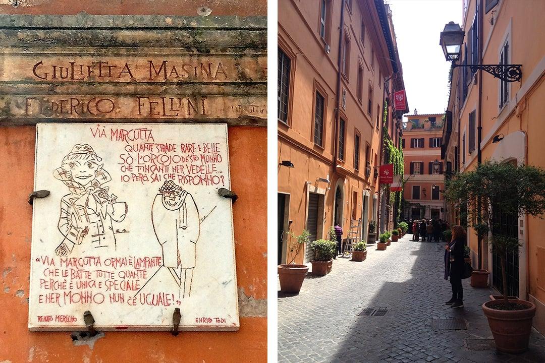 Via Margutta, Rooma