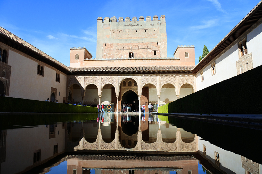 Myrttipiha. Alhambra