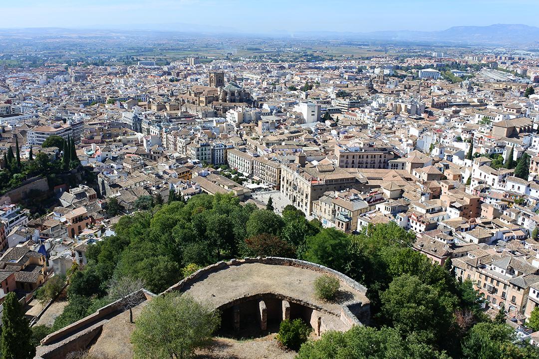 Granadan keskusta