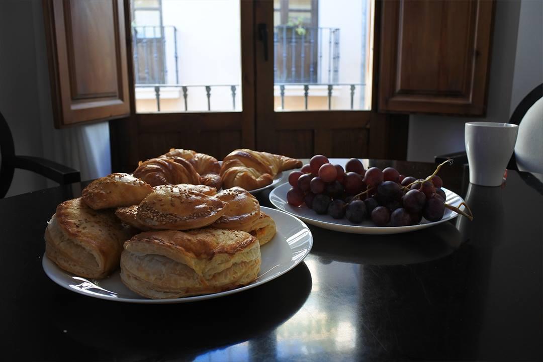 Aamiaisella Granadassa