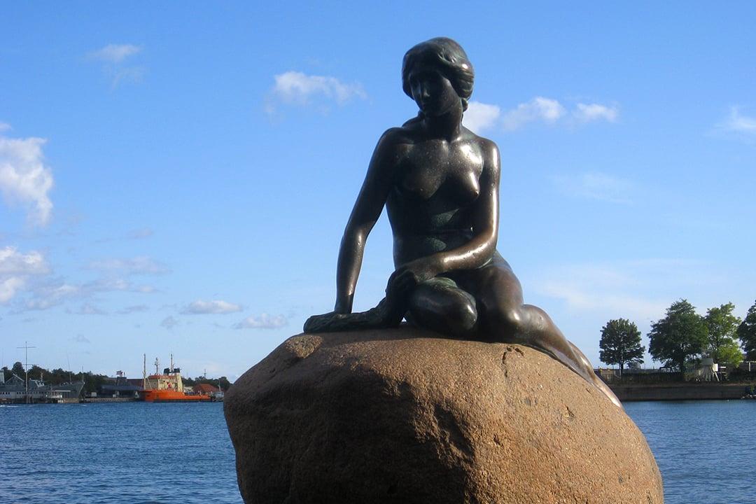 Pieni merenneito Kööpenhaminassa